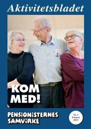 100151 Kom med 2_09.indd - Pensionisternes Samvirke