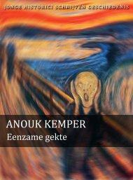 Anouk Kemper (pdf) - Jonge Historici Schrijven Geschiedenis