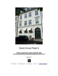 EF - Vedligeholdelsesplan - Arkitekt