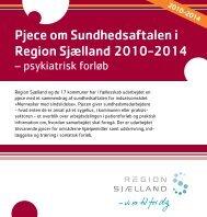 Psyk-Pixi Sundhedsaftale - Region Sjælland