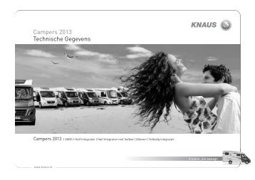 Prijslijst Campers PDF - Witoma Caravan BV