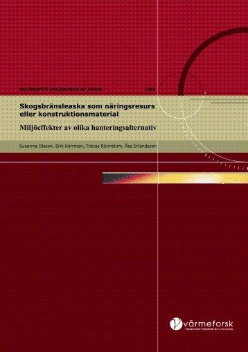 Rapport 1068.pdf - Svenska EnergiAskor AB