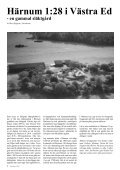 Årsmötet Vad en dödbok kan berätta 25 års Jubileum - Tjust ... - Page 6