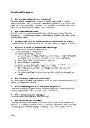 Meest gestelde vragen over automatisch betalen - Woonlinie