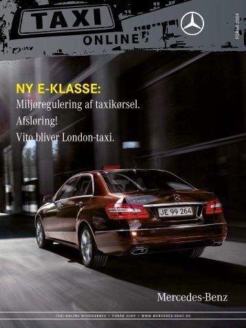 Taxi online 1 09 - Mercedes-Benz Danmark
