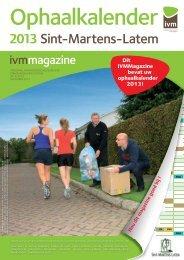 Ophaalkalender 2013 - Gemeente Sint-Martens-Latem