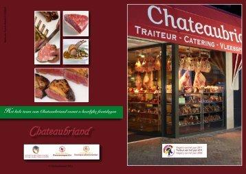Het hele team van Chateaubriand wenst u heerlijke feestdagen