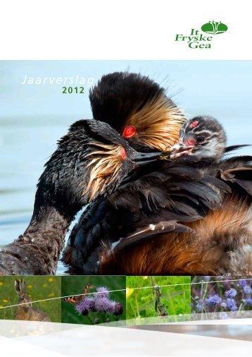 Jaarverslag 2012 - It Fryske Gea