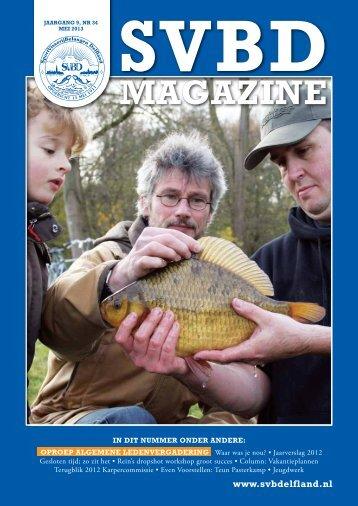 SVBD Magazine 9e jaargang nummer 34 (mei 2013)