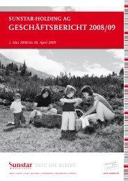 geschäftsbericht 2008/09