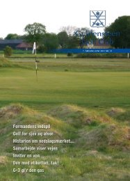 Juni 2011 (PDF) - Gyldensteen Golf Club