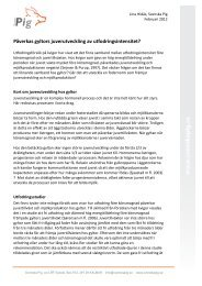Påverkas gyltors juverutveckling av utfodringsintensitet - Svenska Pig
