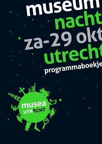 programmaboekje - Musea Utrecht
