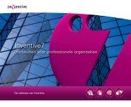 Inventive7: Continuïteit voor professionele organisaties