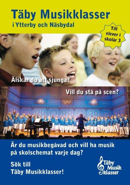 Ladda ner Täby Musikklassers informationsbroschyr som pdf-fil, här!