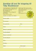 Ladda ner Täby Musikklassers informationsbroschyr som pdf-fil, här! - Page 7