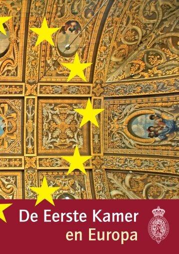 De Eerste Kamer en Europa - Eerste Kamer der Staten-Generaal
