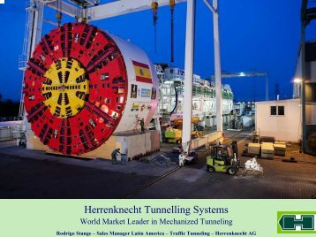 Herrenknecht Tunnelling Systems World-Wide - ITS Chile