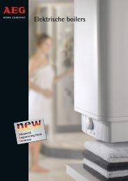 Elektrische boilers - AEG Homecomfort