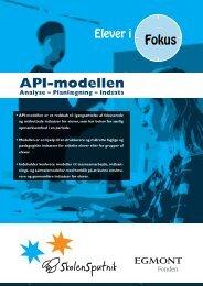 API-modellen - SkolenSputnik