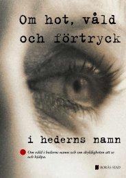Handbok i arbetet mot hedersrelaterat våld - Borås