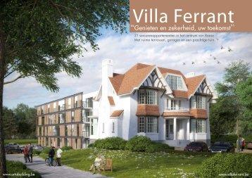 download de brochure - Villa Ferrant