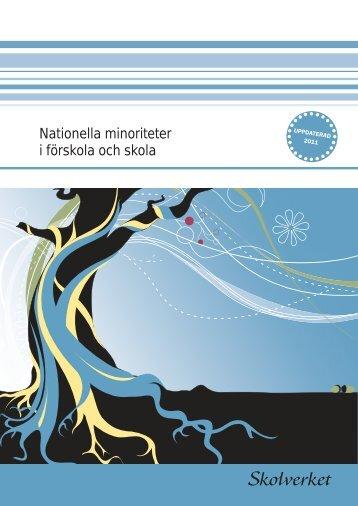 Nationella minoriteter i förskola och skola