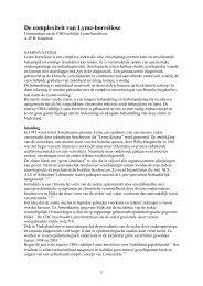 De complexiteit van Lyme-borreliose - LymeMed