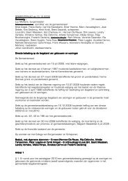 (DB) Leegstand gebouwen en woningen - Stad Roeselare