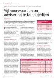 Vijf voorwaarden om advisering te laten gedijen - Accountancy Nieuws