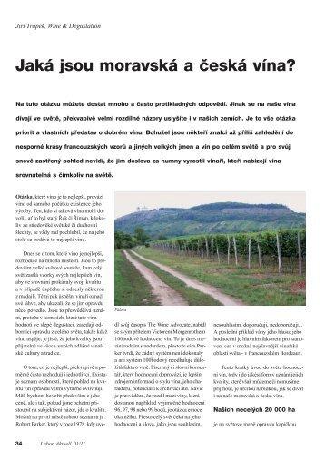 Jaká jsou moravská a česká vína? - Roche diagnostics
