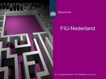 Melden in de praktijk - BES FIU-Nederland