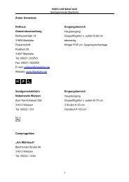 Samtgemeinde Marklohe - Behindertenwegweiser Nienburg