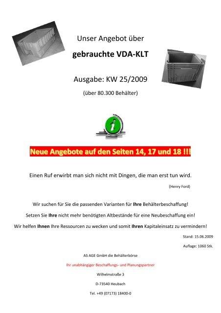 Preis pro Gitterbox 48 00 Euro zzgl. gesetzl ... - Die Behälterbörse