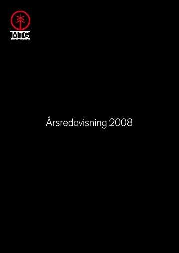 Årsredovisning 2008 - Radioguiden