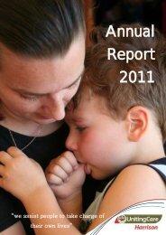 Annual Report 2011 - Harrison Community Services