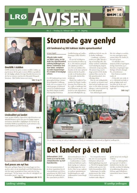 LRØ-Avisen nr. 2 - 22. februar 2011