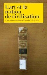 Programme et Abstracts (PDF) - Réseau International pour la ...