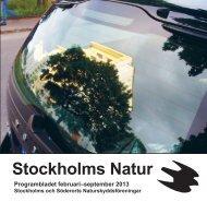 Stockholms Natur 2013-1 - Naturskyddsföreningen