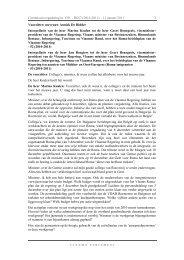 Interpellatie tot de heer Geert Bourgeois, viceministerpresident van