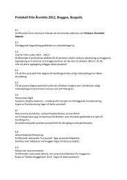 Protokoll från Årsmöte 2012, Bryggan, Bergsvik.