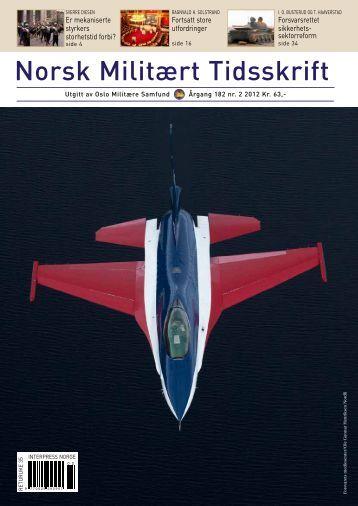 Norsk Militært Tidsskrift - Norsk Militært Tidskrift