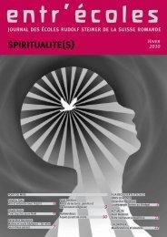 SPIRITUALITE(S) - Ecole Rudolf Steiner de Geneve