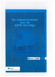 De implementatie van de AIFM Richtlijn