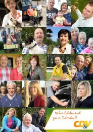 19 kandidaten met zin in Zutendaal! - CD&V Zutendaal