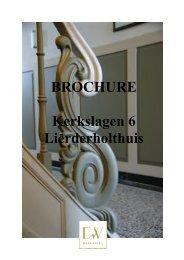 BROCHURE Kerkslagen 6 Lierderholthuis - DW makelaardij