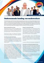 Ondernemende houding van medewerkers - CE Ondernemerschap