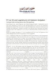 Mittelbadische Presse: Bericht Senioren und ... - TuS Legelshurst