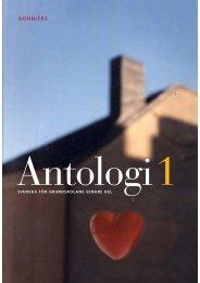Ladda ner utdrag ur Antologi 1 - Sanoma Utbildning