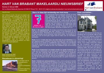 februari - Hart van Brabant Makelaardij